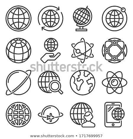 orbit icons  Stock photo © cidepix