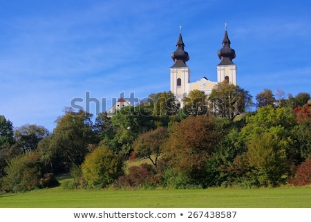 boom · gebouw · muur · architectuur · Europa · godsdienst - stockfoto © borisb17