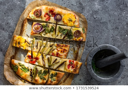 focaccia stock photo © antonio-s