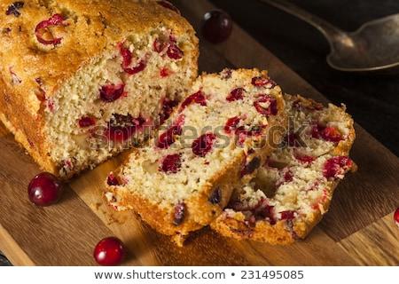 自家製 クランベリー パン 食品 グルメ ストックフォト © joannawnuk