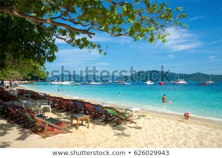 Korall sziget Thaiföld panoráma Phuket nyár Stock fotó © bloodua