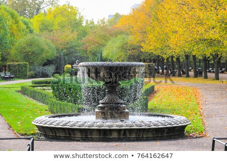 Stock photo: Park Fountain