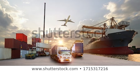 Stock photo: transportation industry