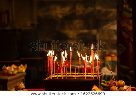 chinese incense Stock photo © leungchopan