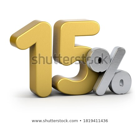 Fifteen discount shiny digits stock photo © deyangeorgiev