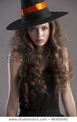 woman dressed up in witch Stock photo © photography33
