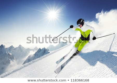 Male downhill skier Stock photo © photography33