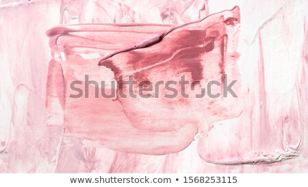 Red hand painted acrylic background Stock photo © Taigi