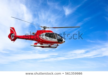 Red helicopter Stock photo © lkeskinen