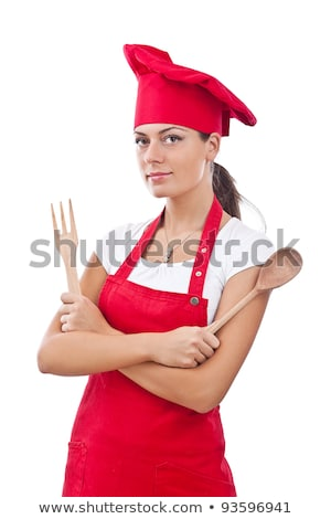 girl dressed as a cook Stock photo © photography33
