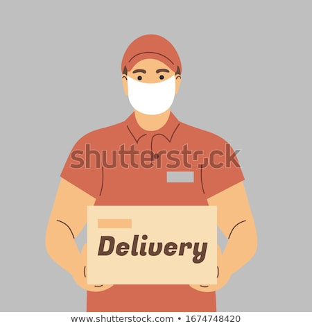 Portrait of a delivery man Stock photo © photography33