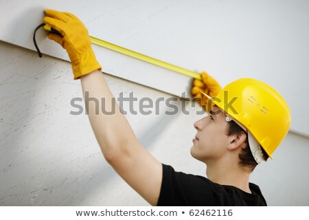 Black Teenage Construction Worker Stock photo © piedmontphoto