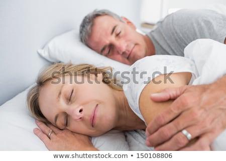 Mature couple asleep Stock photo © photography33