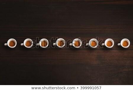 Espresso tok kahve kafe Stok fotoğraf © toaster