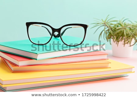 очки книга черный очки Сток-фото © ctacik
