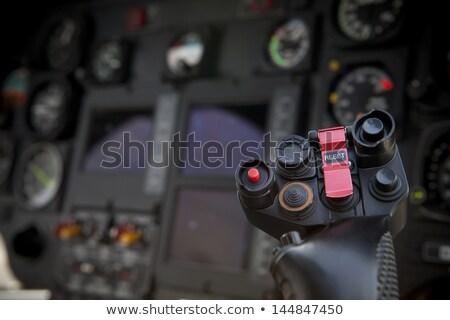 クローズアップ 軍事 ヘリコプター キャビン 空 軍 ストックフォト © premiere