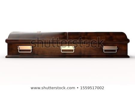 гроб перспективы древесины мертвых объект Сток-фото © icefront