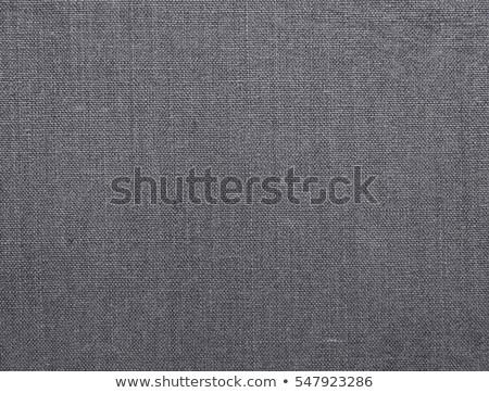 sötétszürke · vászon · textúra · közelkép · kilátás · szövet - stock fotó © mironovak