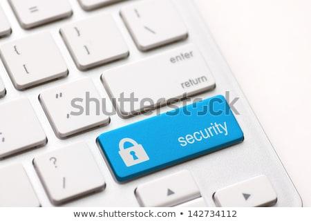 Stok fotoğraf: Güvenlik · düğme · anahtar · kırmızı · klavye · Internet