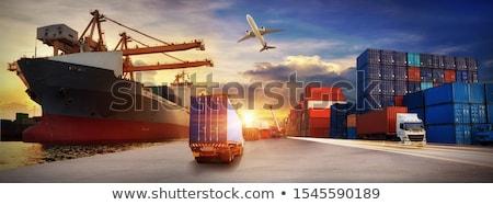Welt · Paket · Versandkosten · internationalen · Paketzustellung · Business - stock foto © lightsource