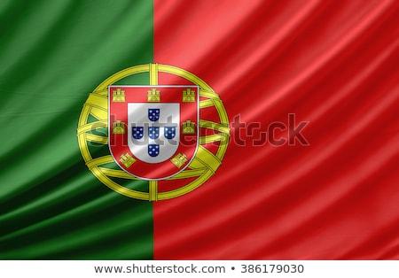 ポルトガル · フラグ · デザイン · にログイン · 緑 · ボール - ストックフォト © maxmitzu
