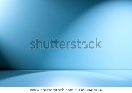 Stockfoto: Abstract · afbeelding · Blauw · kamer · gebouw · achtergrond