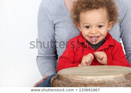 újszülött · fiú · terápia · nő · orvosi · gyógyszer - stock fotó © photography33