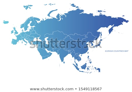 Asia map with Indonesia Stock photo © Ustofre9