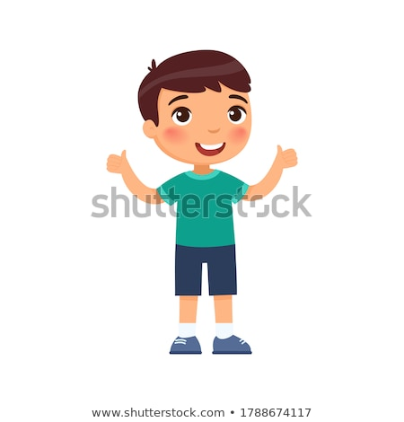 happy toddler boy stock photo © iofoto