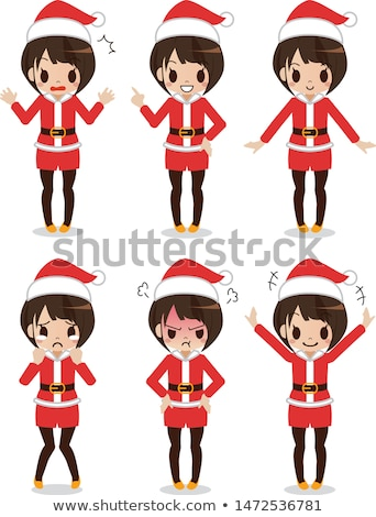 Woman dressed as Mrs Claus Stock photo © photography33