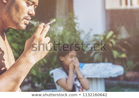second hand smoke stock photo © lightsource