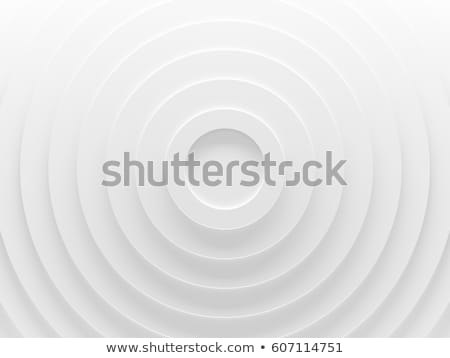3d white abstract sphere Stock photo © cherezoff