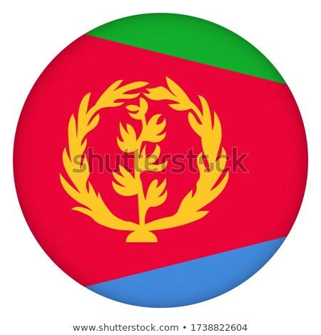 кнопки Эритрея карта морем флаг красный Сток-фото © Ustofre9