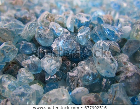 Stock photo: beautiful gemstones in the mine