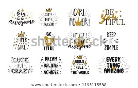 set of motivational quotes stock photo © maxmitzu