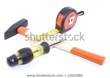 древесины копия пространства фон молота инструментом Сток-фото © ambientideas
