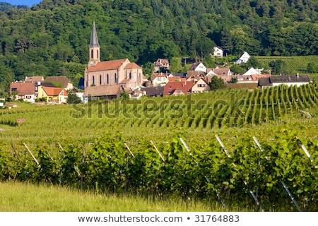 Stock photo: Eguishem Alsace France