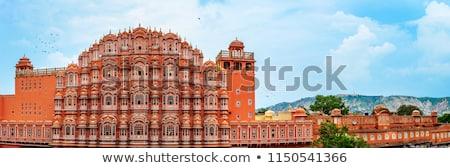 saray · Hindistan · Bina · şehir · duvar · sanat - stok fotoğraf © meinzahn