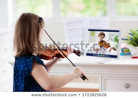 ピアノ · 教師 · 音楽 · レッスン · 学生 · 学校 - ストックフォト © junpinzon