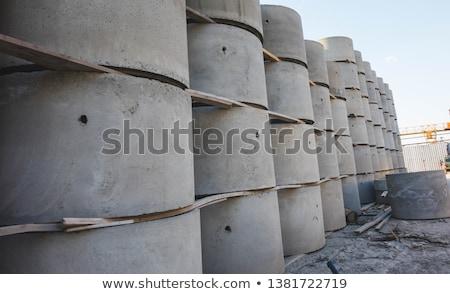 beton · hot · woestijn · landschap · licht · achtergrond - stockfoto © vavlt