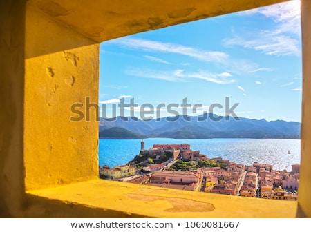 Kilátás tenger sziget Toszkána Olaszország víz Stock fotó © Antonio-S