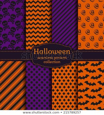 Halloween modèle pourpre noir résumé Photo stock © gubh83