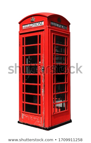 красный · телефон · цвета · Англии · связи - Сток-фото © unikpix