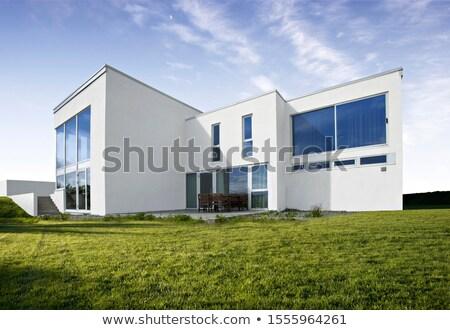 Modern white building Stock photo © gemenacom
