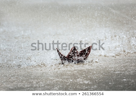 paper boats soft colors Stock photo © tracer