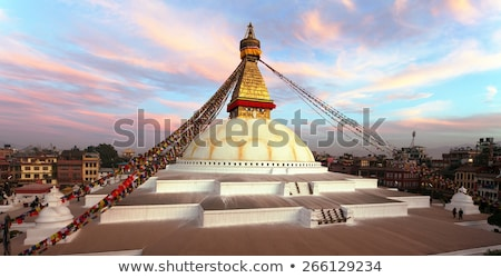 bodhnath stupa in Kathmandu Stock photo © smithore