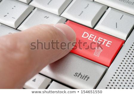 palabra · icono · teclado · botón · tecnología - foto stock © zerbor