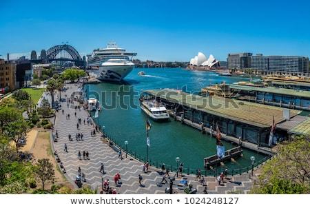 cais · Sydney · porto · ponte · atrás - foto stock © jeayesy