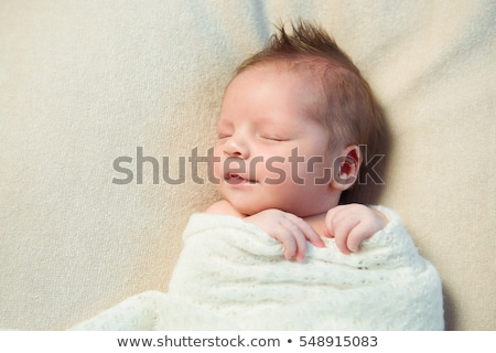 Swaddled Newborn Boy Stock photo © AlphaBaby