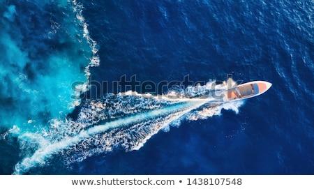 海岸 太陽 海 美 旅行 ストックフォト © vlaru